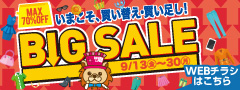 BIG SALE WEBチラシ